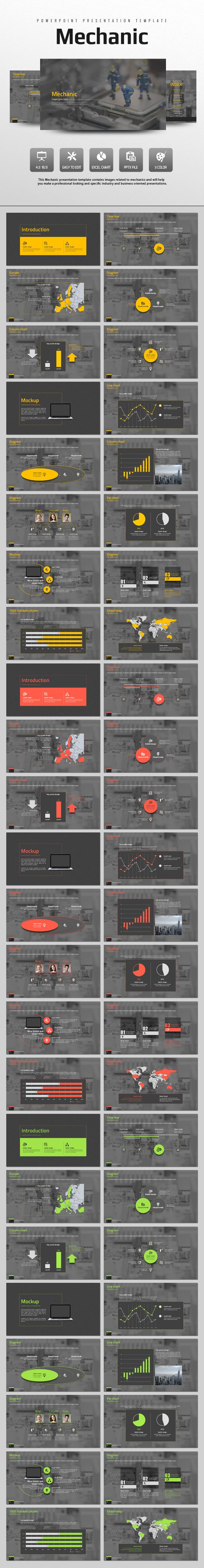Mechanic (PowerPoint Templates)