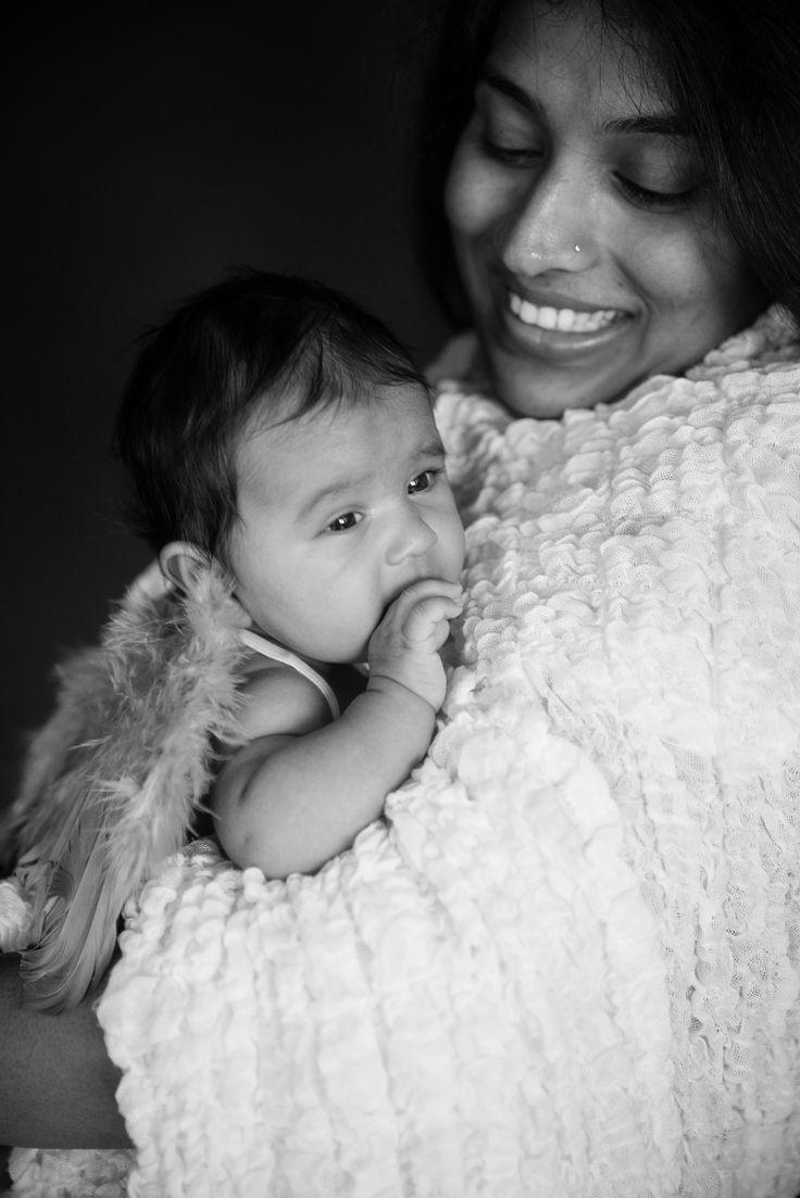 Newborn photos of Shruti & Mayank's baby