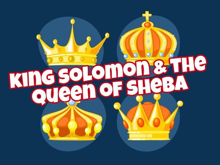 Queen Of Sheba Sunday School Crafts