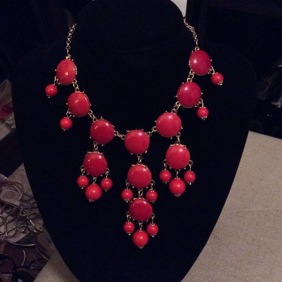 Bubble necklace red Bubble necklace red color/ check out ways to wear this BEAUTY!!! 😍😍😍😍 Bubble Necklace Jewelry Necklaces