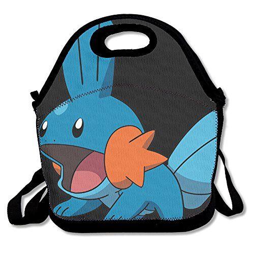 Mudkip Pokemon Handbag Lunch Bags Snack Bags – Pokemon Coin Purse & Pokemon Bag