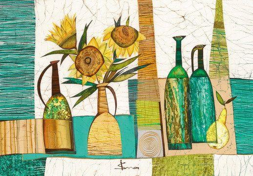 Sunflowers от IsmaArt на Etsy, $450,00