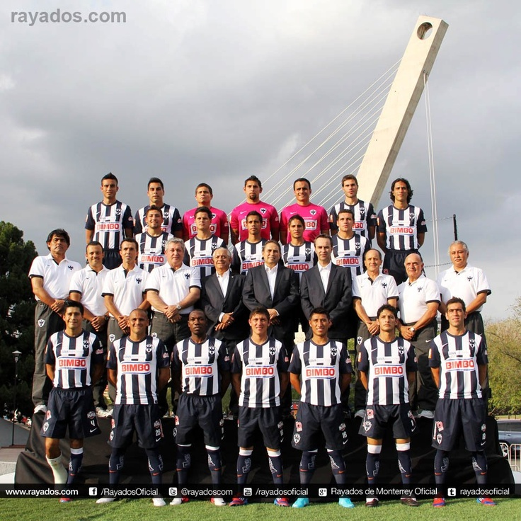 Para ti que eres Rayado de Corazón: La Foto Oficial de #Rayados del Torneo de Apertura 2012