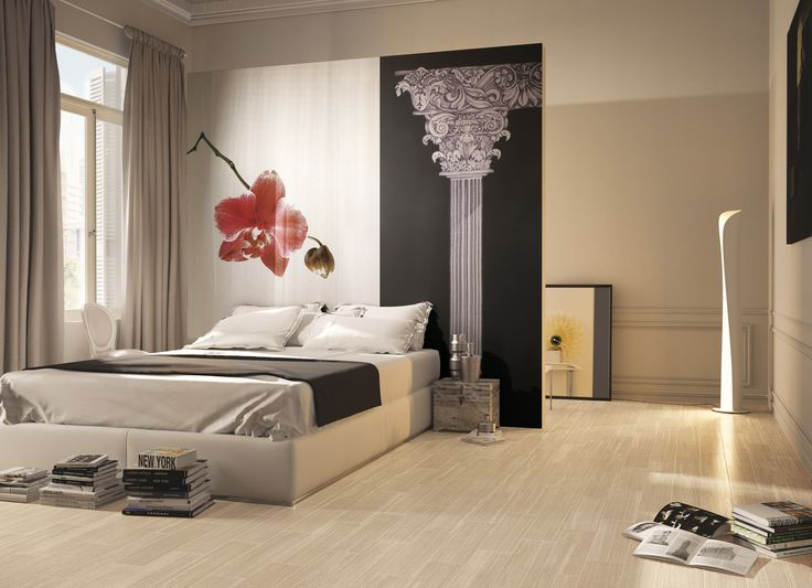 Times 6x24 Porcelain Tile Flooring #interiordesign #tile #bedroom  #floortile Http:/
