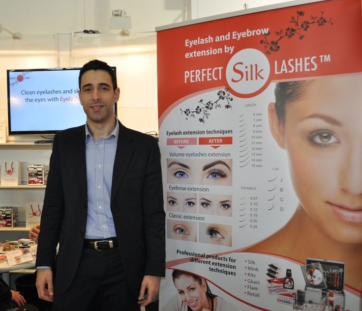 Alessandro Stroppa General Manager Perfect Silk Lashes Italy.
