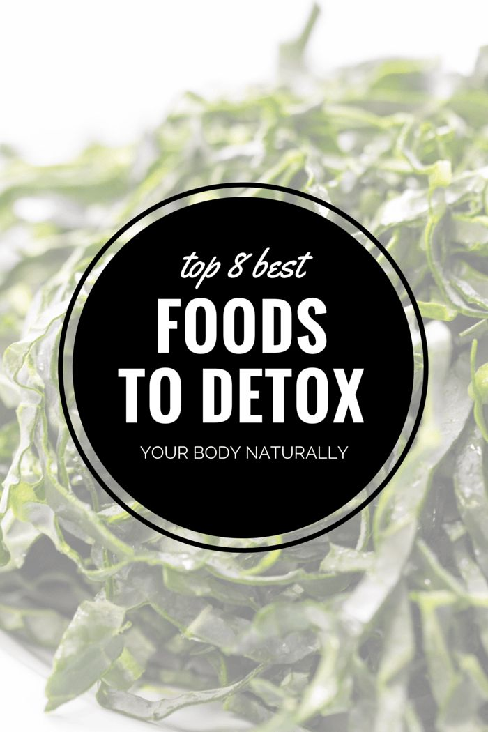 How To: 8 Best Foods to Detox Your Body