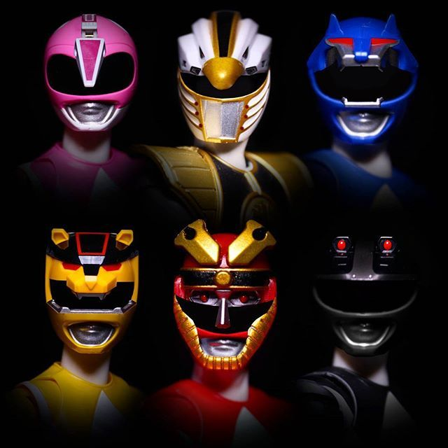 Mighty Morphin Power Rangers - Season 3 Rangers