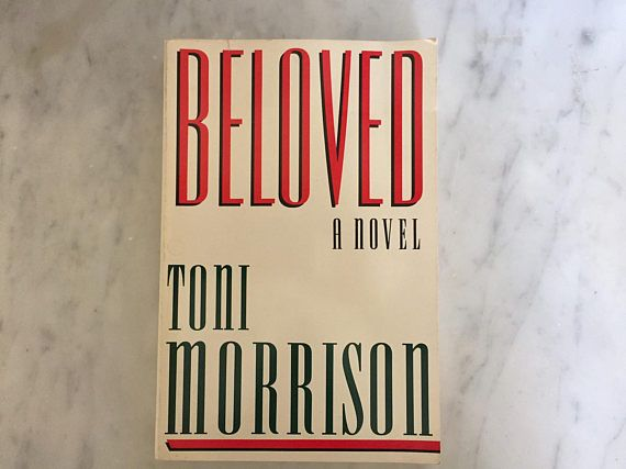 Beloved by Toni Morrison 1987 Paperback Edition Very Good