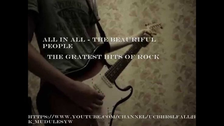 Marilyn Manson The Beautiful People Cover (Band) Vocal+Guitar (All in Al...