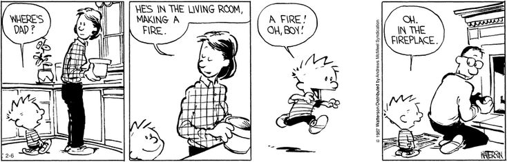 Calvin and Hobbes by Bill Watterson for Feb 6, 2017 | Read Comic Strips at GoComics.com