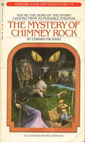 Choose Your Own Adventure books. I read this particular one a million times.