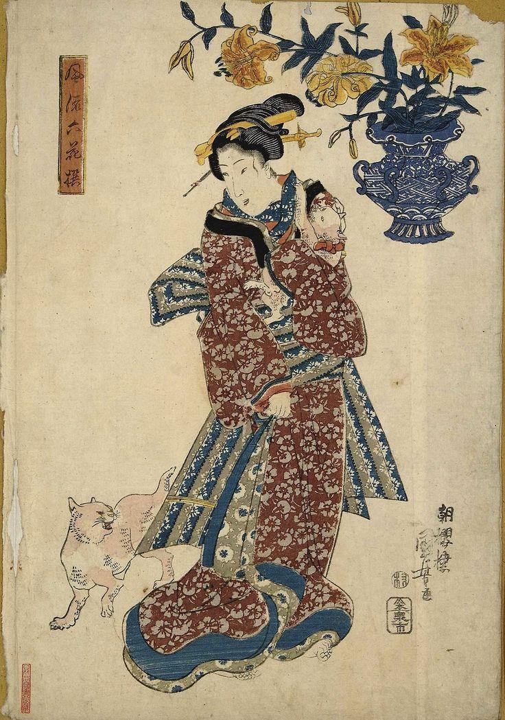 ukiyoecats: Utagawa Kuniyoshi 歌川国芳