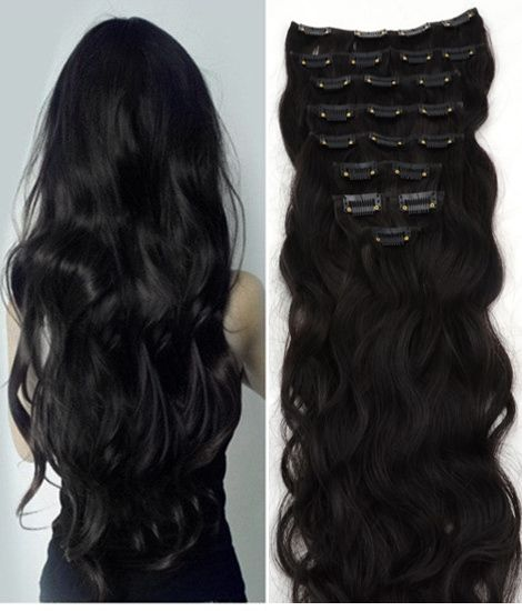 Why wait? Easily get the long hair you've been dreaming for with clip in hair extension. Select your color now!
