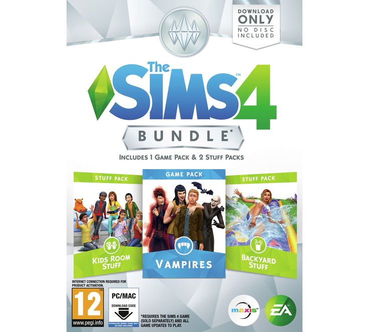 Buy The Sims 4 Vampires Bundle Pack PC Game at Argos.co.uk, visit Argos.co.uk to shop online for PC games, PC games and accessories, Video games and consoles, Technology