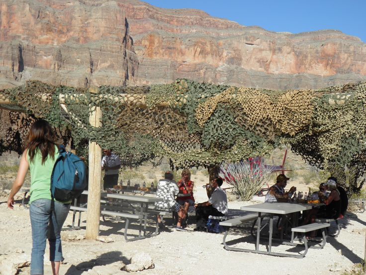 Picnic on Grand Canyon