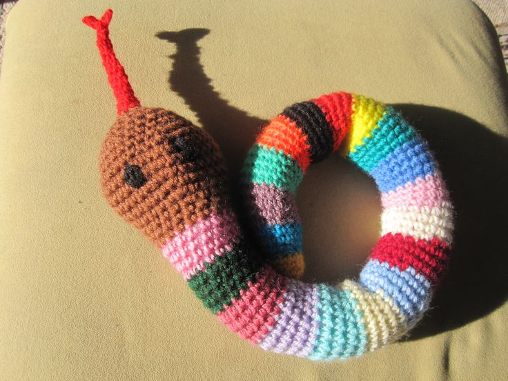 A colourful snake.