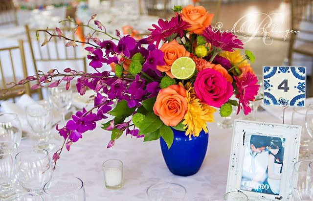 Mexican Inspired Centrepieces By Rachel A. Clingen