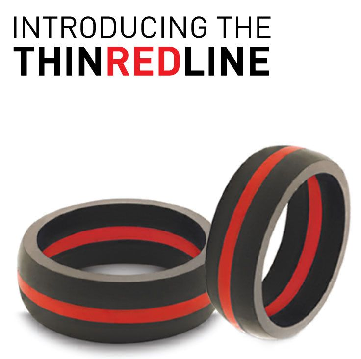 We are proud to officially release the first ring in our Thin Line Collection: The Thin Red Line  http://qalo.com/pages/thin-red-line  20% of the proceeds from this collection will be donated to care for the families of current and fallen firefighters.  ‪#QALOring‬ ‪#CommitmentIsCourageous‬