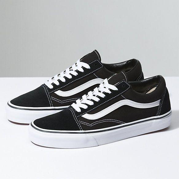 vans chaussure noir femme