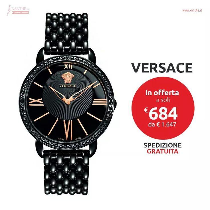 #xanthe #shopping #style #glam #mood #fashion #watch #picoftheday #versace #pin www.xanthe.it
