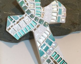 mosaic cross – Etsy
