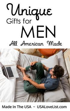 Unique Gifts for Men, all American Made #madeinUSA #giftsformen #holiday #giftguide