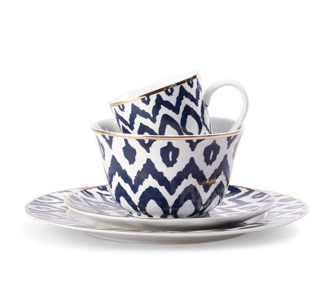 C. Wonder inexpensive ikat dinner plate & ikat dinnerware