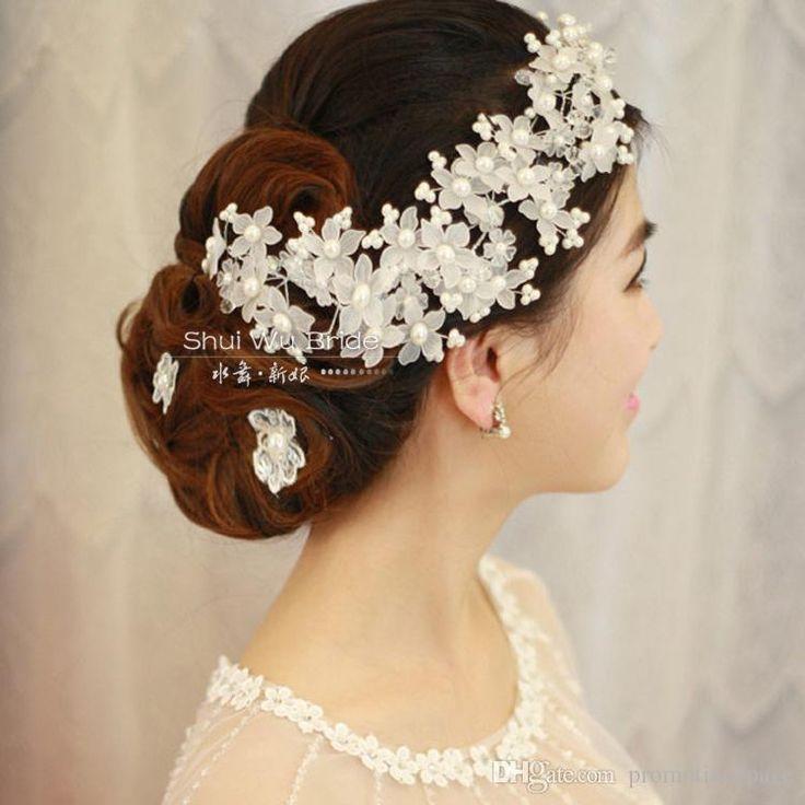 Peals Hairband Cristallo Fatti A Mano Fiori Sposa Accessori Da Sposa Diademi Sposa Corona