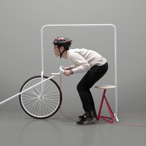 Breeze by HawaSoo    Home furniture styled like a bicycle
