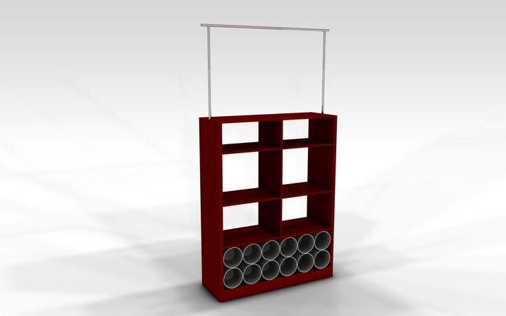 Small Modular Cupboard Unit