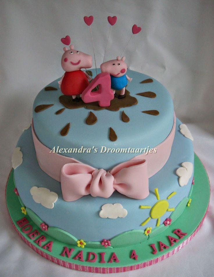 Peppa big taart / cake