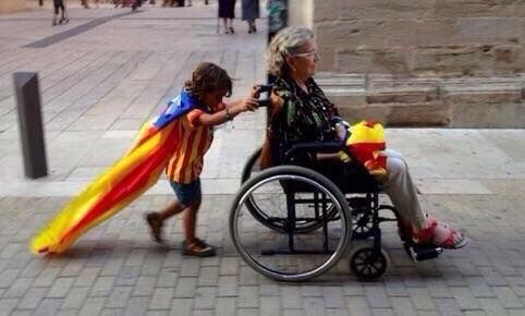 Photo of the year 2014; Catalonia's independence vote. Otto Ozols