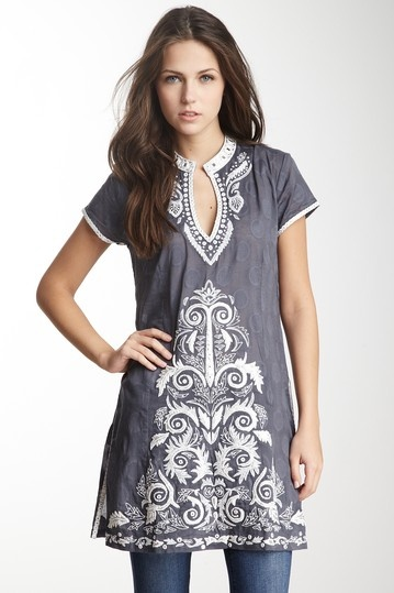 Arya Sequin Tunic by Sulu Collection on @HauteLook