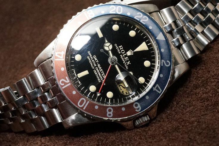 ロレックス GMTマスター Ref-1675 gilt PCG(RS-59/1963年)の詳細写真8枚目