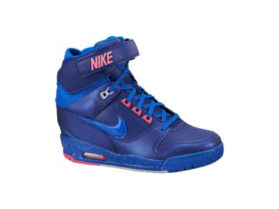 Nike Air Revolution Sky Hi Women's Shoe: A must have for me! Cant wait to  rock these bad biys!