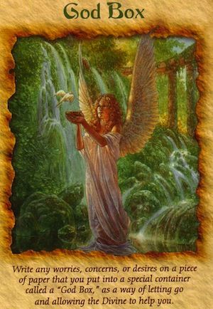 Free Angel Card Reading: Releasing Worries with a God Box