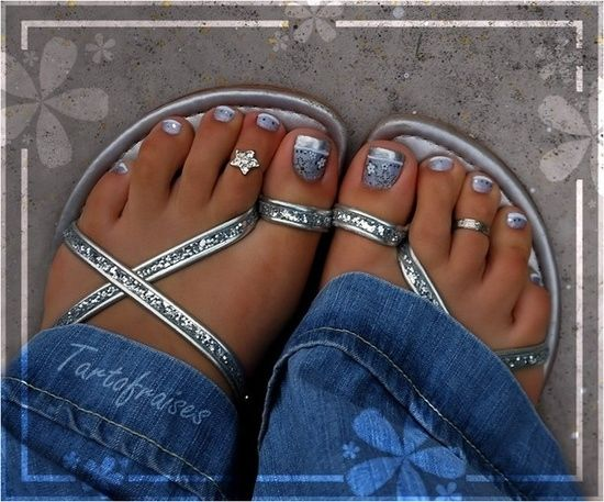 55 Nail Art Ideas- For Your TOES photo We've Got You Covered's photos