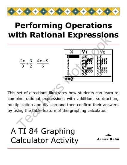 integer and rational expressions Simplifying expressions with rational exponents is so easy in fact, you already know how to do it we simply use the exponent properties but with.