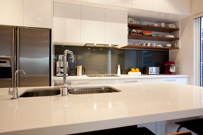 Custom built kitchen that is strikingly beautiful