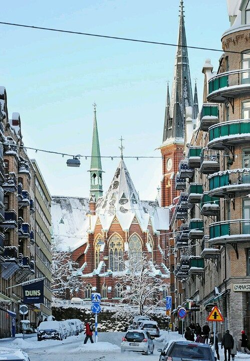 Reasons to Travel to Sweden During Winter LoveeSweden/Oskar Fredrik Church, Gothenburg, Sweden
