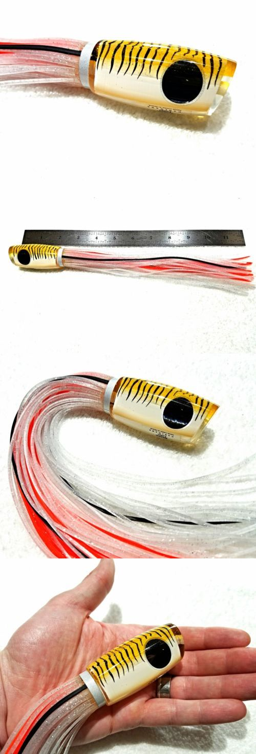 Saltwater Lures 36153: Amaral Lures Yellow Tiger Caninana 10 Brazil Big Game Marlin Ahi Trolling 4Oz -> BUY IT NOW ONLY: $69.95 on eBay!
