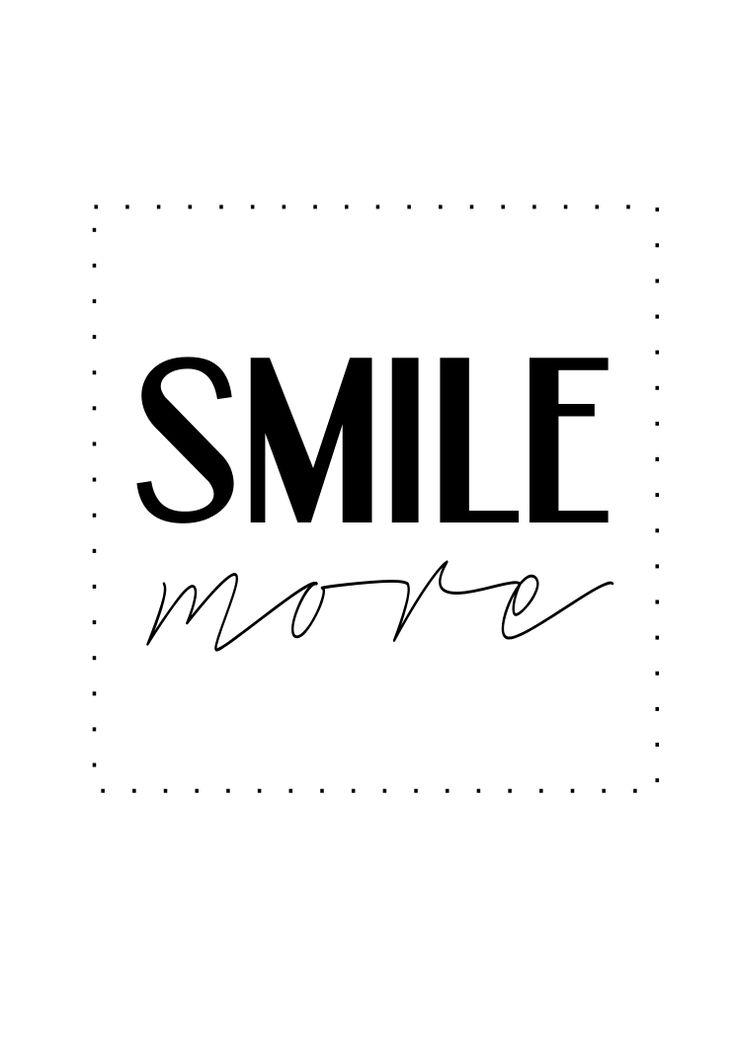 plakat smile more