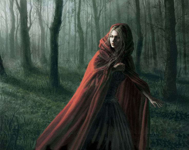 Why Little Red Riding Hood is caught between innocence and sexuality