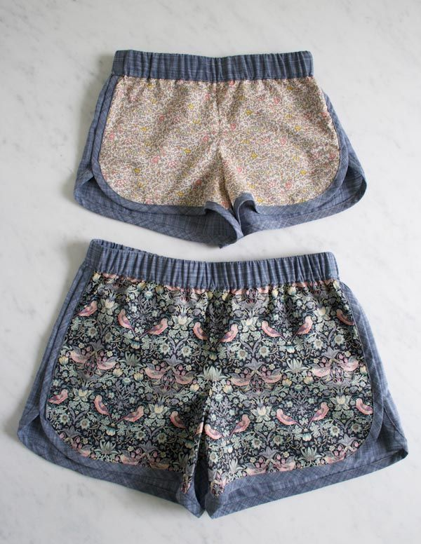 Corinne's Thread: City Gym Shorts for All Ages - Purl Soho - Knitting Crochet Sewing Embroidery Crafts Patterns and Ideas!