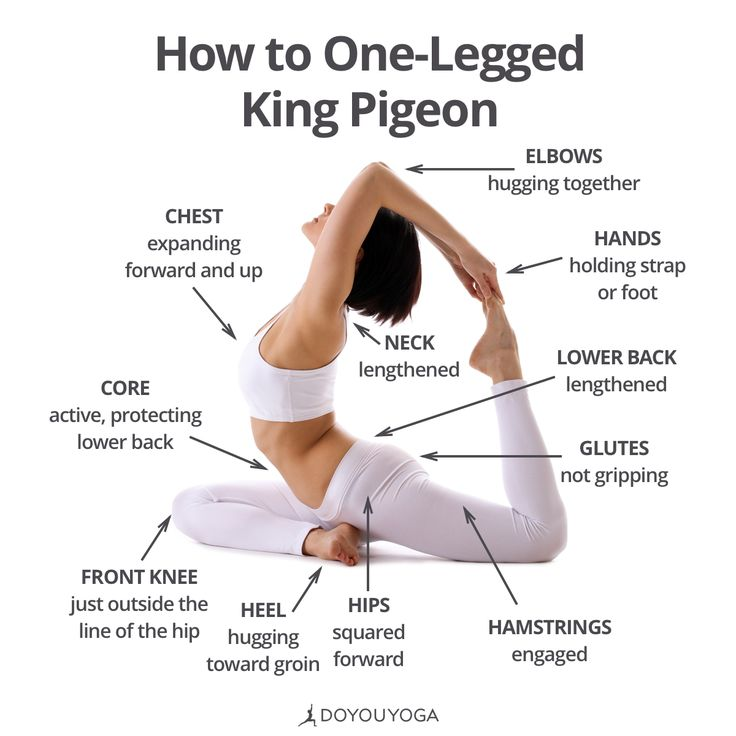 Your guide to beautiful heart-opening in One-Legged King Pigeon   What are your favorite cues for Eka Pada Raja Kapotasana?