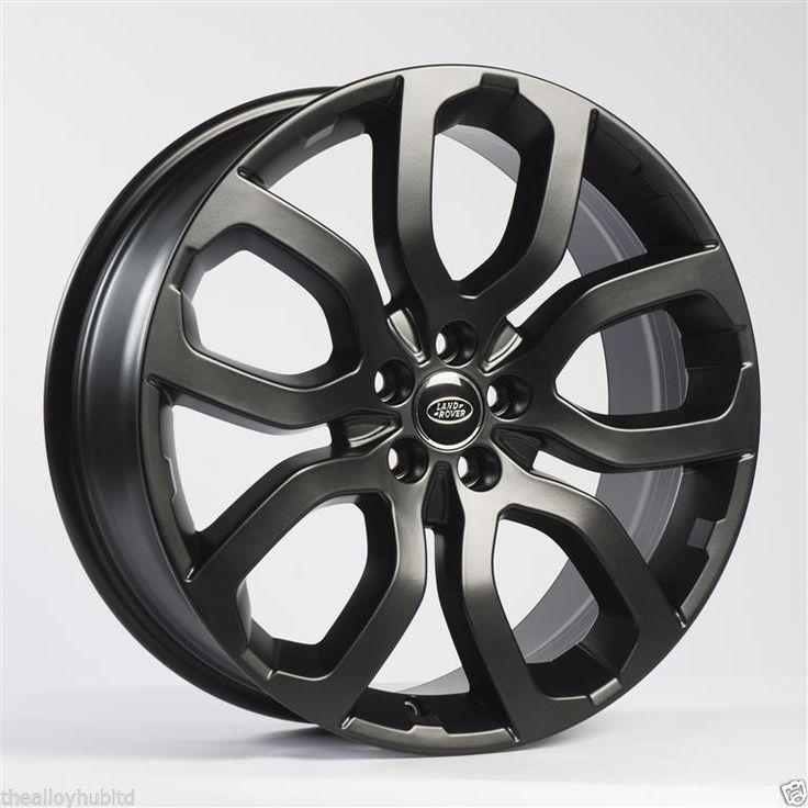 "Genuine Range Rover Evoque 20""inch Dynamic Satin Black"