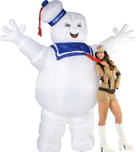 Muñeco inflable Cazafantasmas. Marshmallow (El Hombre de Malvavisco), 275cm