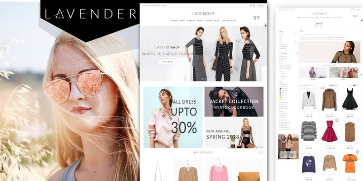 Lavender Fashion PrestaShop Theme
