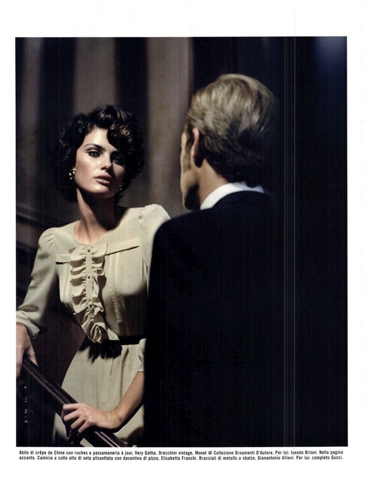 Vogue Italia Suggesions September 2011 : Isabeli Fontana : Vincent Peters