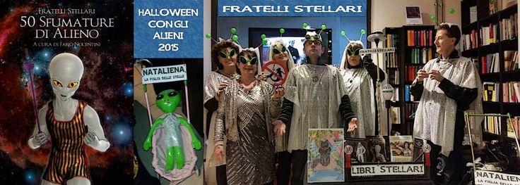 """""""Halloween con gli Alieni"""" alla Nardini Bookstore di Firenze: 31 ottobre 2015."""
